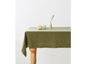 Martini Olive Tablecloth Linen Tales