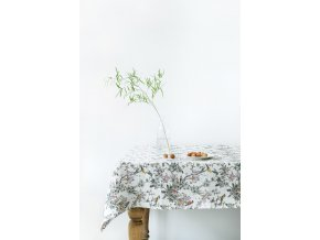 Birds Print Tablecloth by Linen Tales 2