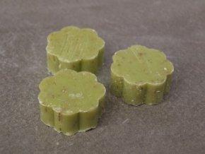 Mýdlo ve tvaru kytičky  - vůně citronová tráva
