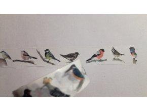 Washi páska Ptáčci