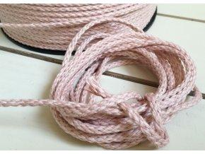 Lněná příze Pastel Pink