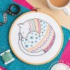 cat embroidery kit 1
