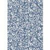 32136 balici papir flower pattern blue 10 m siroky
