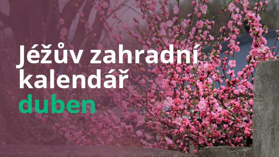 Jéžův zahradní kalendář - duben