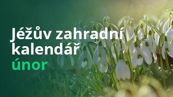 Jéžův zahradní kalendář - únor