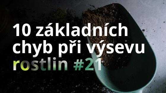 10 základních chyb při výsevu rostlin #21