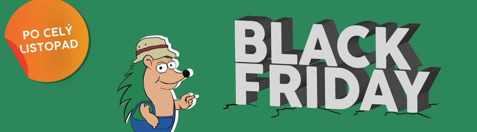 Black Friday - Zahrada Ježek