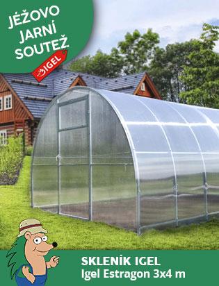 Soutěž o zahradní skleník IGEL