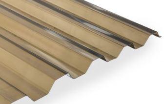 Polykarbonátové trapézové desky