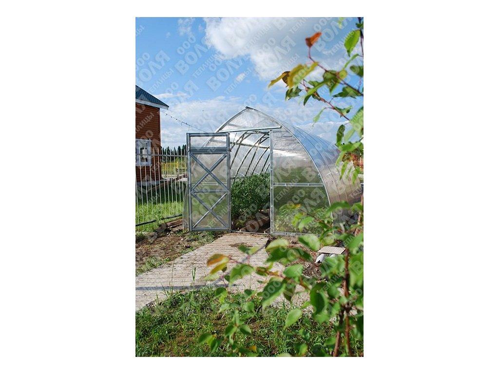Zahradní skleník Volya LLC STRELKA 10 x 3 m, 4 mm