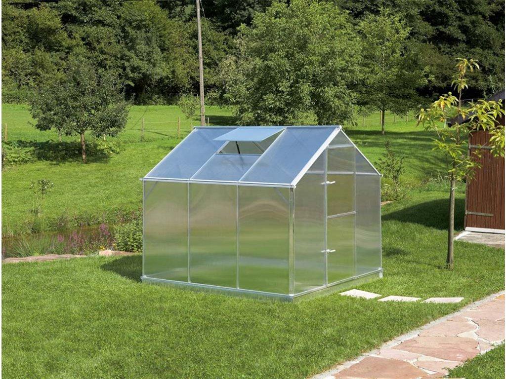 zahradni sklenik z polykarbonatu