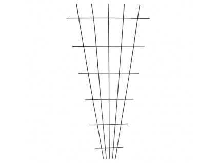 mřížka zahradní IVY 150x75cm kov/PH