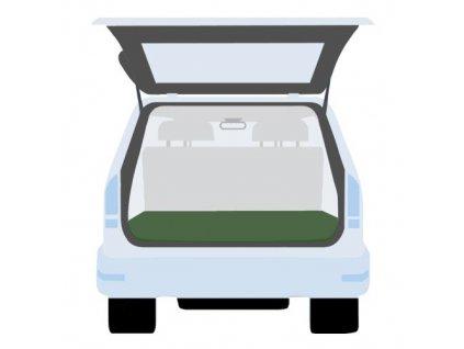 plachta krycí do kufru auta 140 x 140 cm, PE 130g/m2