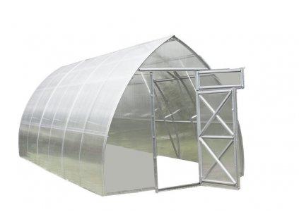 Zahradní skleník Volya LLC STRELKA 10 x 2,6 m, 4 mm