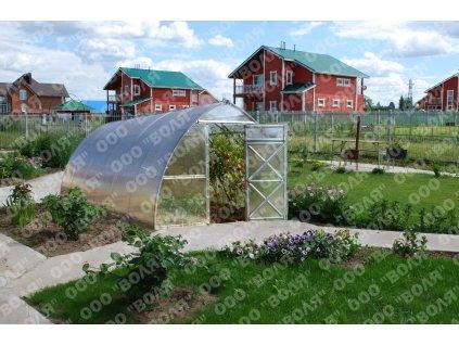 Zahradní skleník Volya LLC STRELKA 8 x 3 m, 4 mm