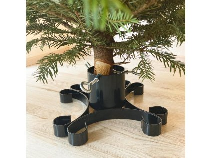 stojánek na vánoční stromek LYRA, 330x330x120mm, kov