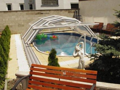Zastřešení bazénu VISION 4,3  x 3,1 m