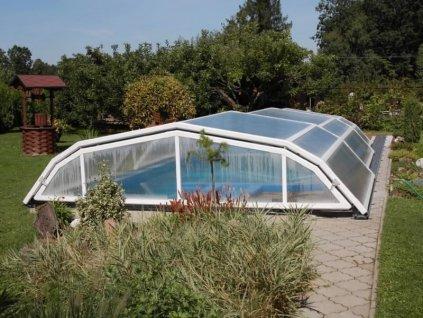 Zastřešení bazénu VISION 3,3 x 2,7 m