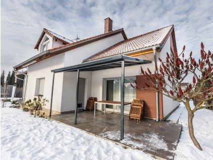 Terrassendach original 3,06 x 4,06 m - antracit