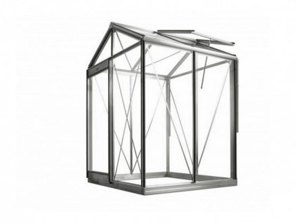 Zahradní skleník Piccolo 1,5 x 1,6 m hliník