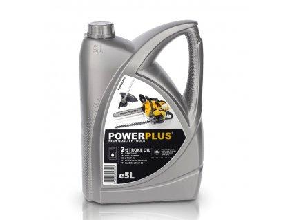 Olej do 2-taktních motorů POWERPLUS, 5l