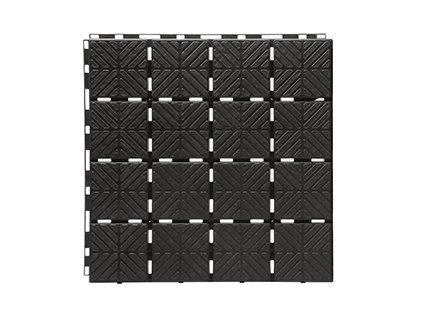 EASY SQUARE zahradní dlaždice 1,5 m2, černá IES40