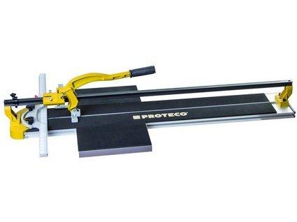 PROTECO řezačka dlažby  1000 mm  s vodící x-lištou a hliníkovým stolem