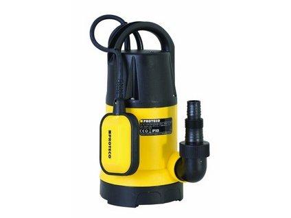 PROTECO čerpadlo ponorné  750W, 13000L/hod, výklopné nožky, max. hloubka 7m - NOVÝ MODEL
