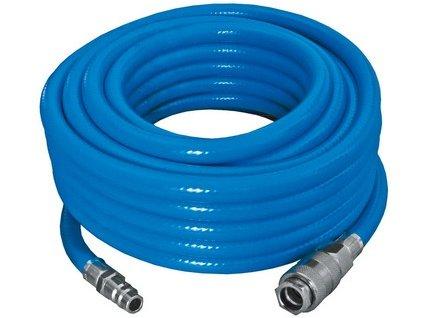 PROTECO hadice tlaková PVC opletená  13/19mm  5 m  s rychlospojkami STOP