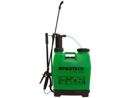 PROTECO Garden ruční zádový tlakový postřikovač 16l