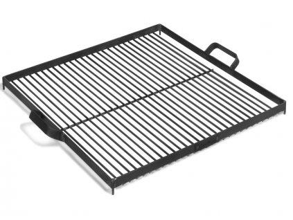Grilovací rošt ocel 58x58 cm na Ohniště 80 cm
