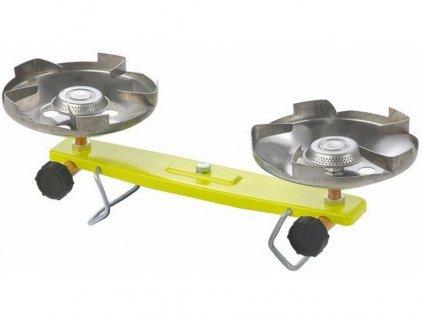 Plynový vařič dvouhořák MEVA PICAMP 2136