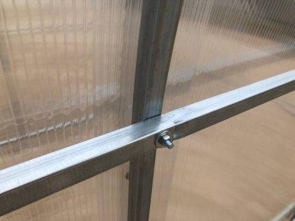 Zahradní skleník GALERICA GRETA 4 x 2 m, 4 mm