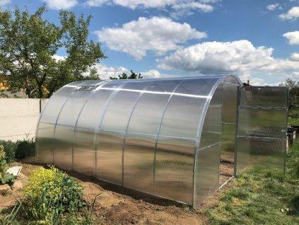 Zahradní skleník GALERICA GARANT 8 x 3 m, 4 mm