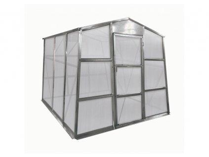 Zahradní skleník G21 GZ 48, 1,9 x 2,5 m, 4 mm