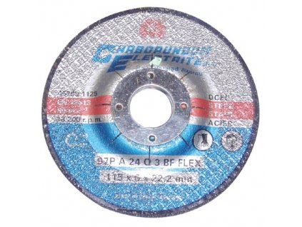 kotouč brus.na ocel 125x6x22,2mm