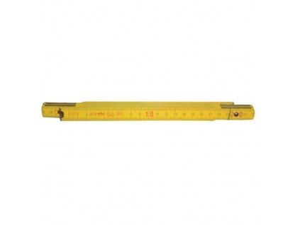 metr skládací dřev. 1m/5 PERFEKT buk ŽL