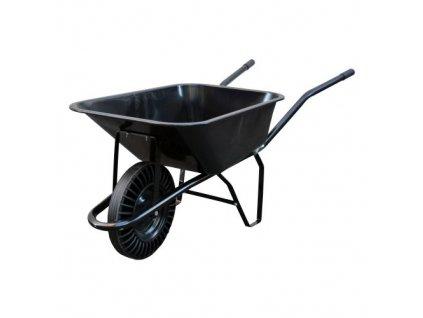 Zahradní / stavební kolečko 80l, plná pryž