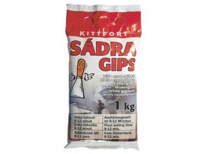 Sádra KITT 1kg, bílá