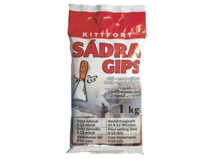 Sádra KITT 3kg, bílá