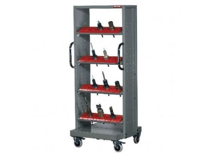 Mobilní nástrojový organizér k CNC - 5B kovový | Shuter