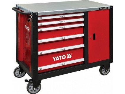 Dílenská skříňka na nářadí YATO 6 šuplíků,