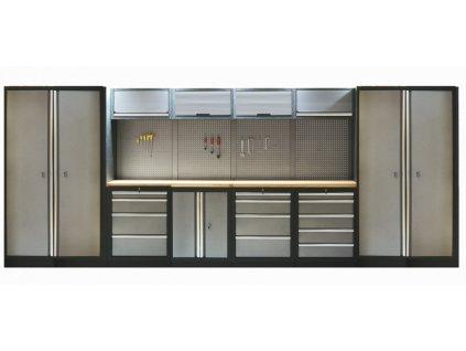 Kvalitní PROFI dílenský nábytek - 4535 x 2000 x 465 mm - TGS1300A1 | AHProfi