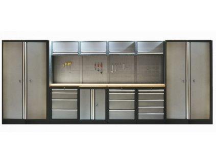 Kvalitní PROFI dílenský nábytek - 4535 x 2000 x 465 mm - TGS1300A2 | Torin BIG RED