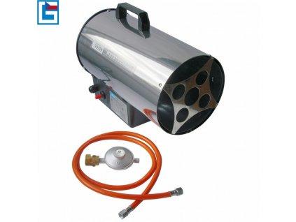 Horkovzdušné plynové topidlo 10kW GGH 10 INOX GÜDE - GU85005 | Güde