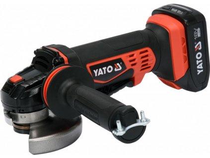 AKU Úhlová bruska 125 mm, 10000 ot./min., 18V - YT-82826 | Yato
