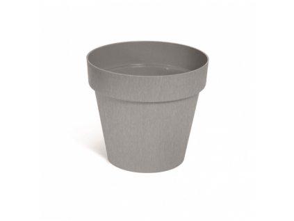 Květináč CUBE beton šedý