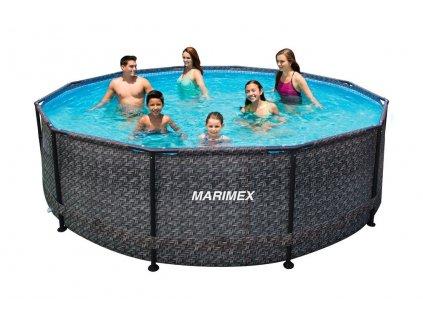 Bazén FLORIDA 4,57 x 1,32 m bez příslušenství, ratan