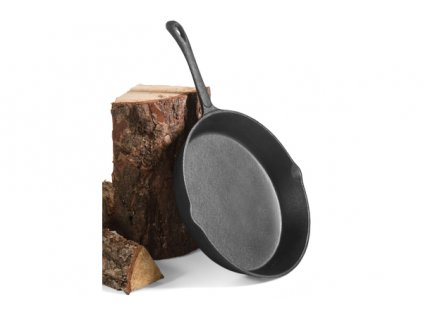 CookKing Pánev litina natural 30 cm