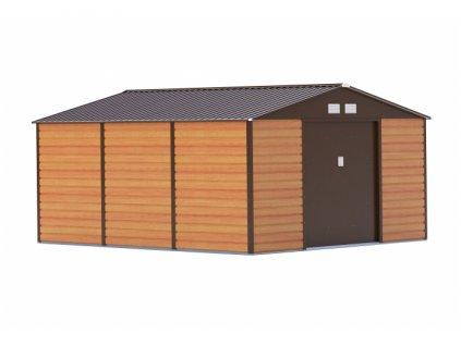Zahradní domek G21 GAH 1300 - 340 x 382 cm, hnědý